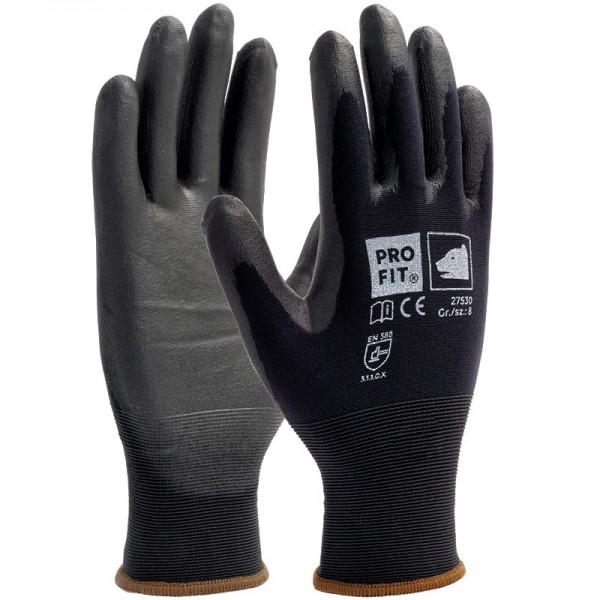 PU-Handschuhe - Montagehandschuhe super soft, schwarz